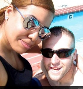STEPHEN AND RAQUEL - Poolside 2