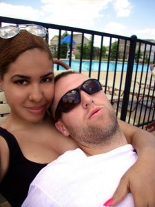 STEVEN AND RAQUEL 1 - Poolside