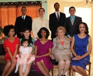 Frank and San Robinson - Family Photo