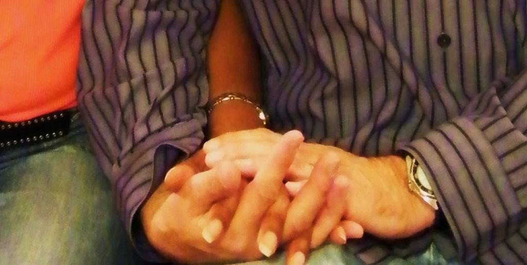 Frank and Sandra built their relationship - and their marriage - on prayer
