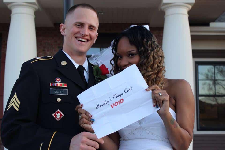 Jamaica and Brad Miller_Wedding photo - License