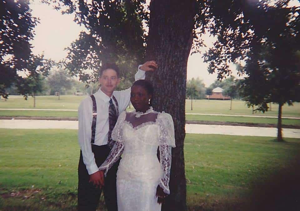 Niecy and Jeff Aldrich's wedding photo