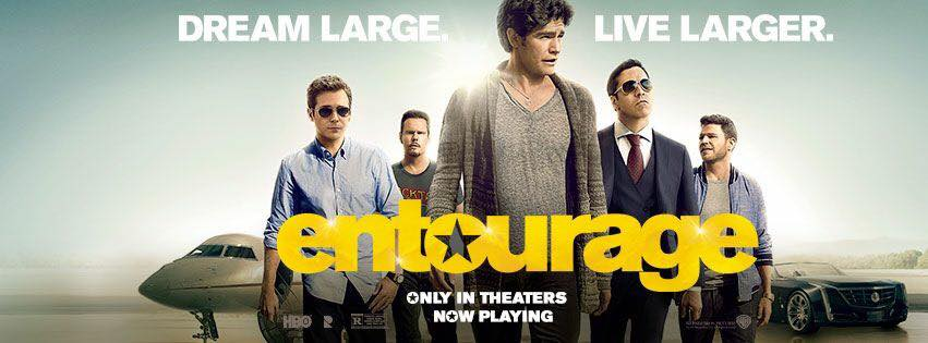 Entourage movie Facebook cover